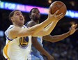 Klay Thompson se mostró imparable ante Denver Nuggets