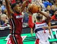 Wall anotó 34 puntos ante Miami Heat