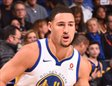 Klay Thompson botando