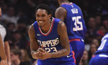 Lou Williams robó 10 balones en el Jazz-Clippers