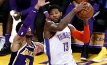 Paul George se crece ante los abucheos del Staples Center