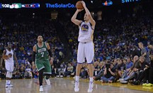 Los Warriors necesitan el tiro letal de Klay Thompson