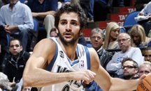 Ricky Rubio anotó 6 triples ante Orlando Magic