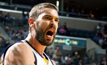 Marc Gasol fulmina a los Warriors en Memphis