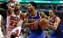 Derrick Rose se ha reunido con los Lakers