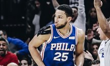Ben Simmons preocupa a los Sixers