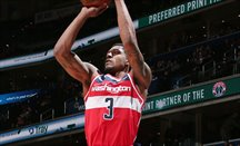 Bradley Beal anotó 40 puntos haciendo un triple-doble