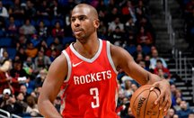 Los Rockets de Chris Paul rompen la racha como visitantes de Warriors