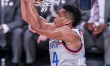 Antetokounmpo haciendo un mate en el último All-Star