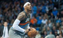 Carmelo Anthony sigue estando en el punto de mira de Houston