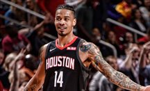 Gerald Green jugando con Houston