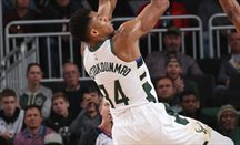 Giannis Antetokounmpo debutó en China