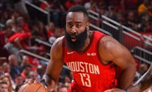 Houston empata la serie a los Warriors con 38 puntos de Harden