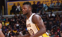 Los Lakers derrotan a LeBron James con un gran Julius Randle