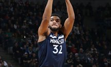 Towns estuvo enorme ante Indiana Pacers