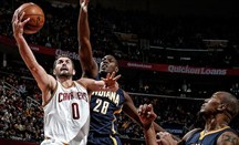 Kevin Love anotó 28 puntos ante Indiana Pacers