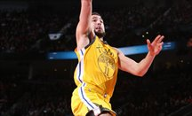 Klay Thompson anotó 43 puntos