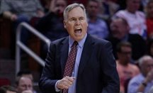 Mike D'Antoni está triunfando con Houston