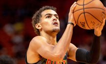 Trae Young ha anotado 41 puntos