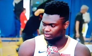 Zion Williamson se ha lesionado