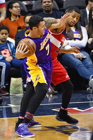Larry Nance Jr, en un partido ante Wizards