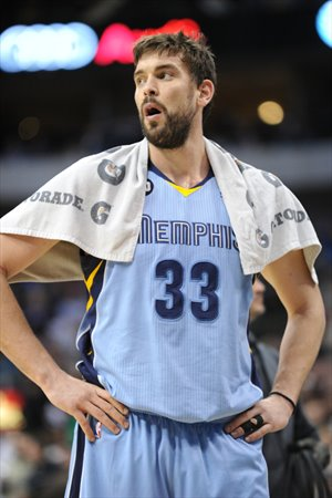 Marc Gasol hizo un triple-doble en el Philips Arena