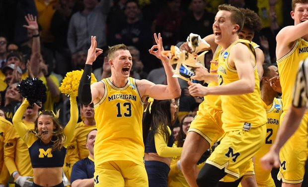Michigan a la final con un gran Moritz Wagner