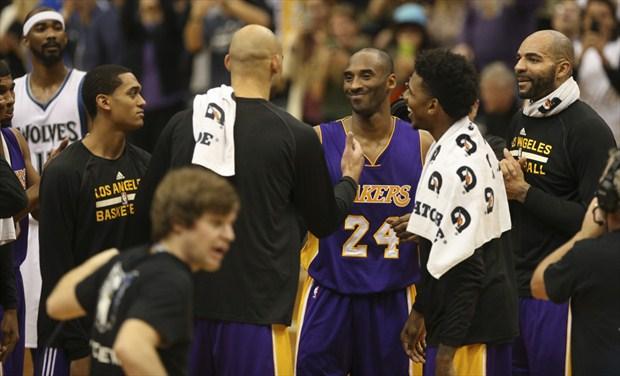 El primer cara a cara entre Kobe Bryant y Michael Jordan ... d8a5cb7762fe9