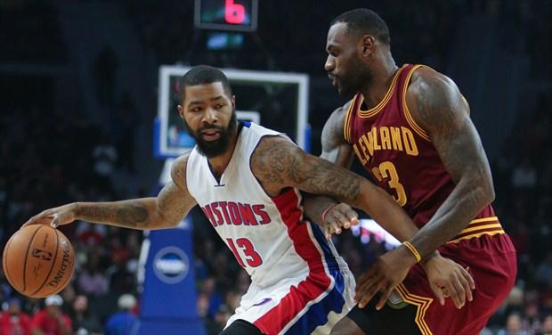 Los Cavs de LeBron James superaron a los Pistons en su visita a Detroit