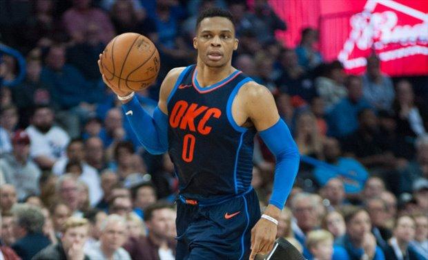 Westbrook hizo un triple-doble con 24 asistencias