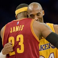 LeBron James ha pasado a Kobe Bryant como anotador en playoffs