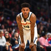 Nick Young ha jugado 4 partidos con Denver