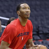 Wesley Johnson entrenando con los Wizards