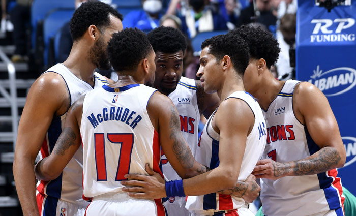 Detroit Pistons Team Salaries And Contracts