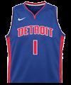 Camiseta de Detroit Pistons