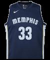 Camiseta de Memphis Grizzlies