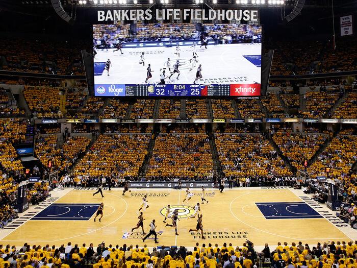 Bankers Life Fieldhouse - Hispanosnba.com