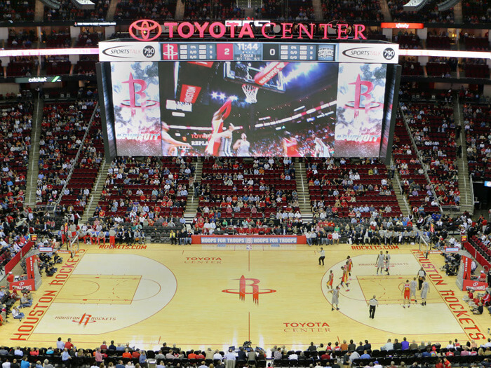 toyota center - hispanosnba