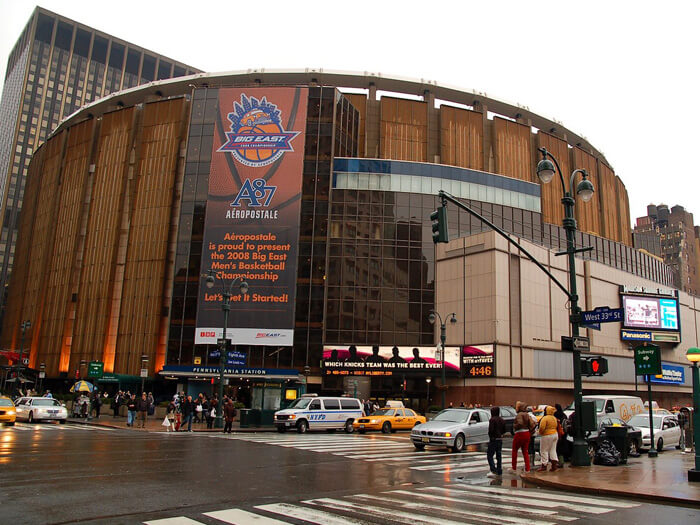 Madison square garden for Address of madison square garden