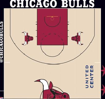 Bulls halfcourt