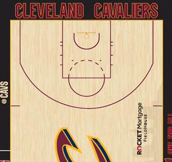 Cleveland Cavaliers halfcourt