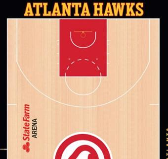 Hawks halfcourt