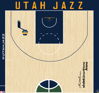 Jazz halfcourt