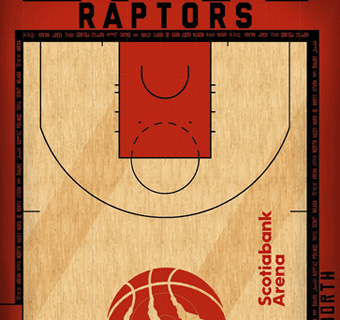 Raptors halfcourt