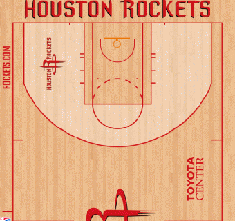 Rockets halfcourt