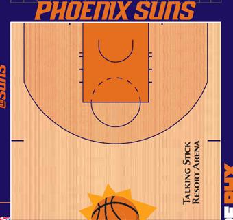 Suns halfcourt